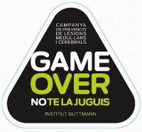 Campanya Game Over de l'Institut Guttmann sobre la prevenció d'accidents
