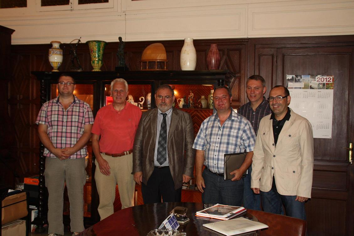 Lecturers of The Llillebaelt Academy of Professional Higher Education in Odense, Denmark, visited our school