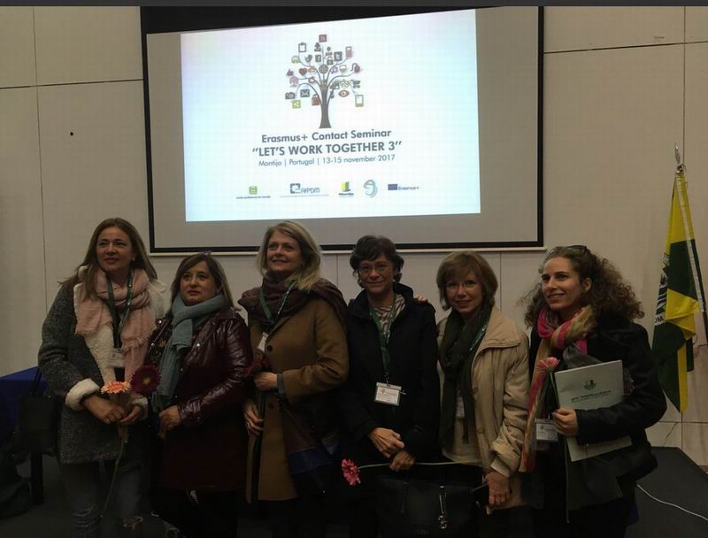 "L'Escola participa en el Seminario de Contacto Erasmus+ ""Let's work together 3"""